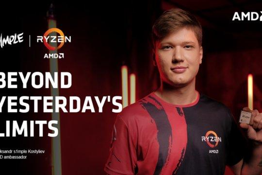 Oleksandr 's1mple' Kostyliev devine ambasador oficial al AMD