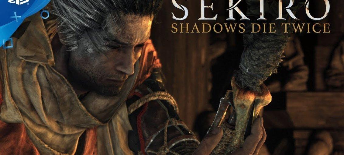 Sekiro Shadows Die Twice - trailer si data de lansare