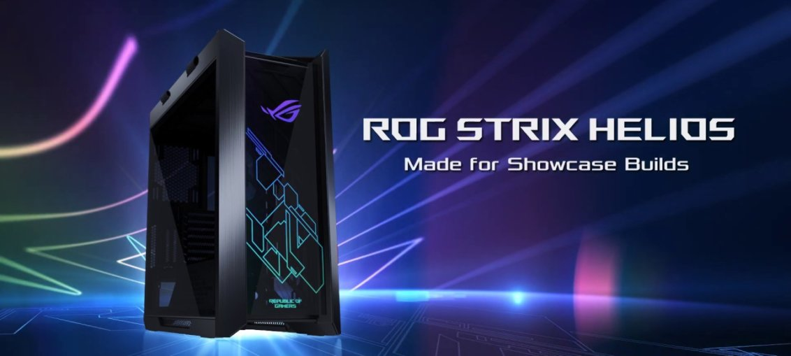 ASUS Republic of Gamers anunta carcasa ROG Strix Helios