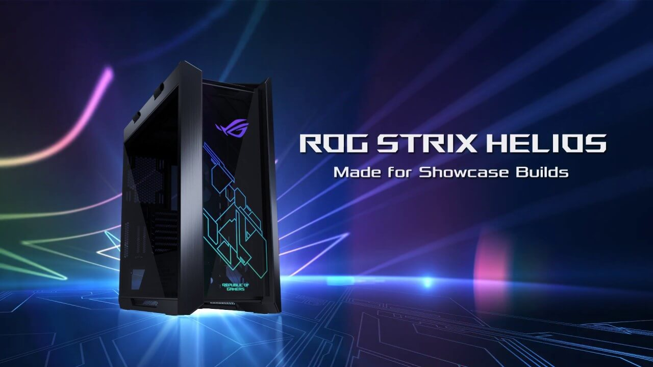 ASUS Republic of Gamers anunta carcasa ROG Strix Helios