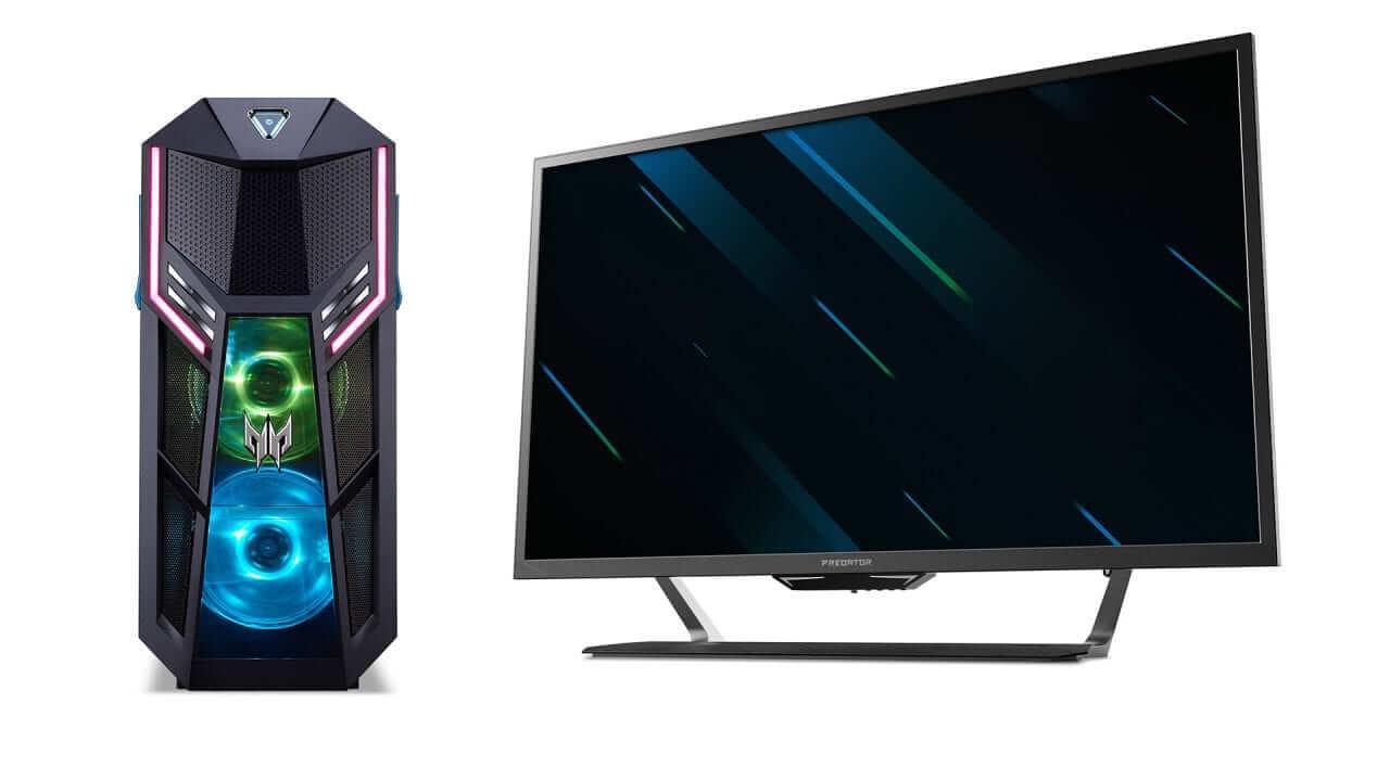 Acer lanseaza Predator Orion 5000, un monitor de 43 inci si noi periferice