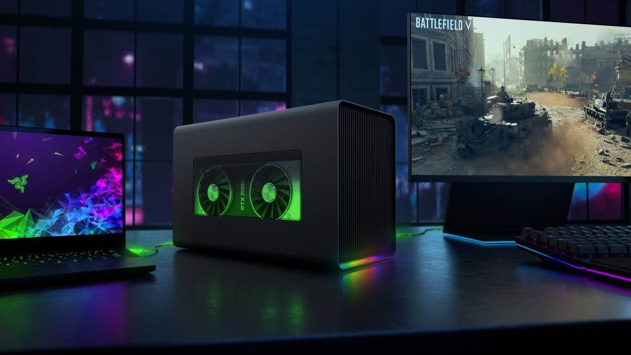 Razer Core X Chroma - o noua solutie eGPU pentru laptopuri