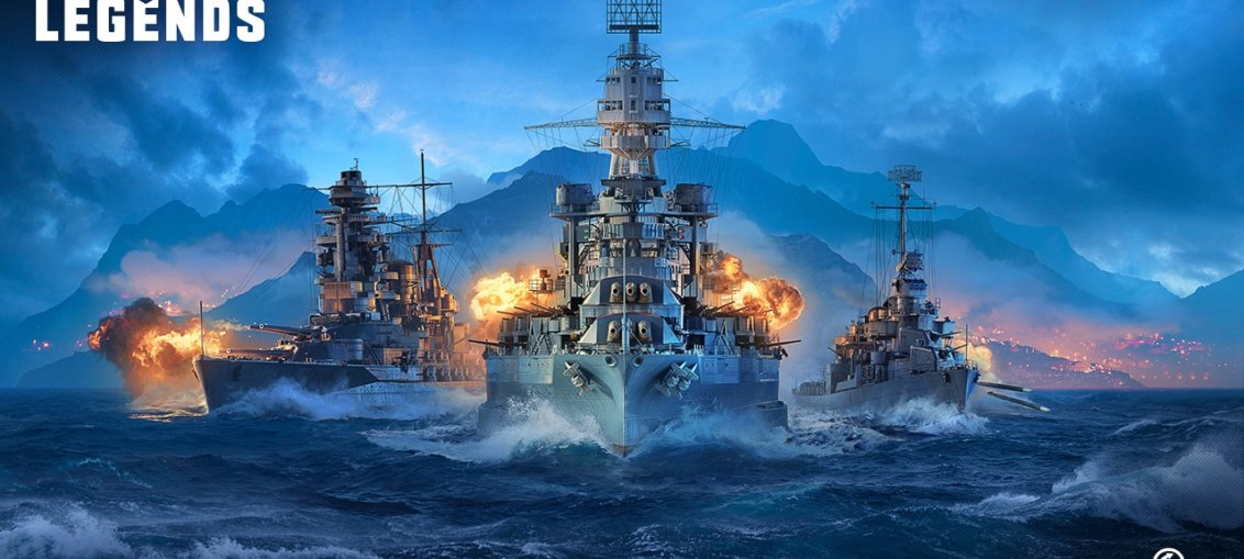 World of Warships Legends este disponibil pentru console