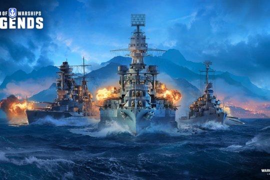 World of Warships Legends este disponibil pentru console