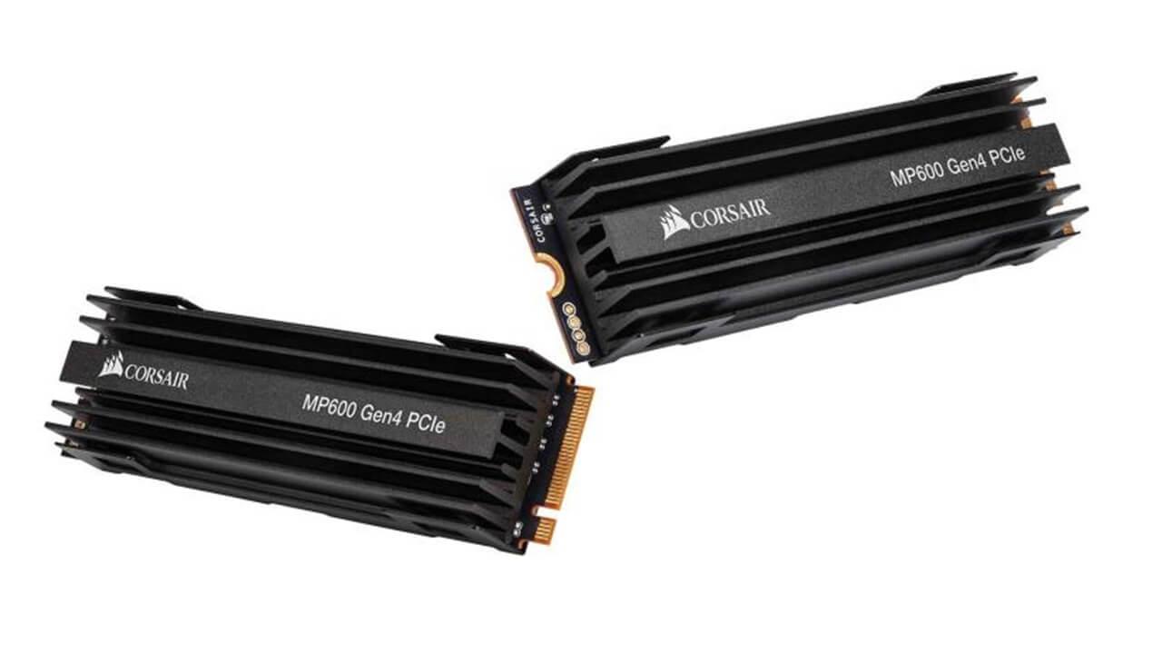 Corsair anunta unul dintre primele SSD-uri cu PCIe 4.0