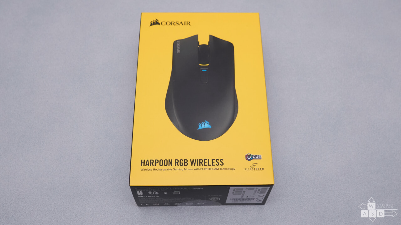 Corsair Harpoon RGB Wireless gaming mouse review | WASD
