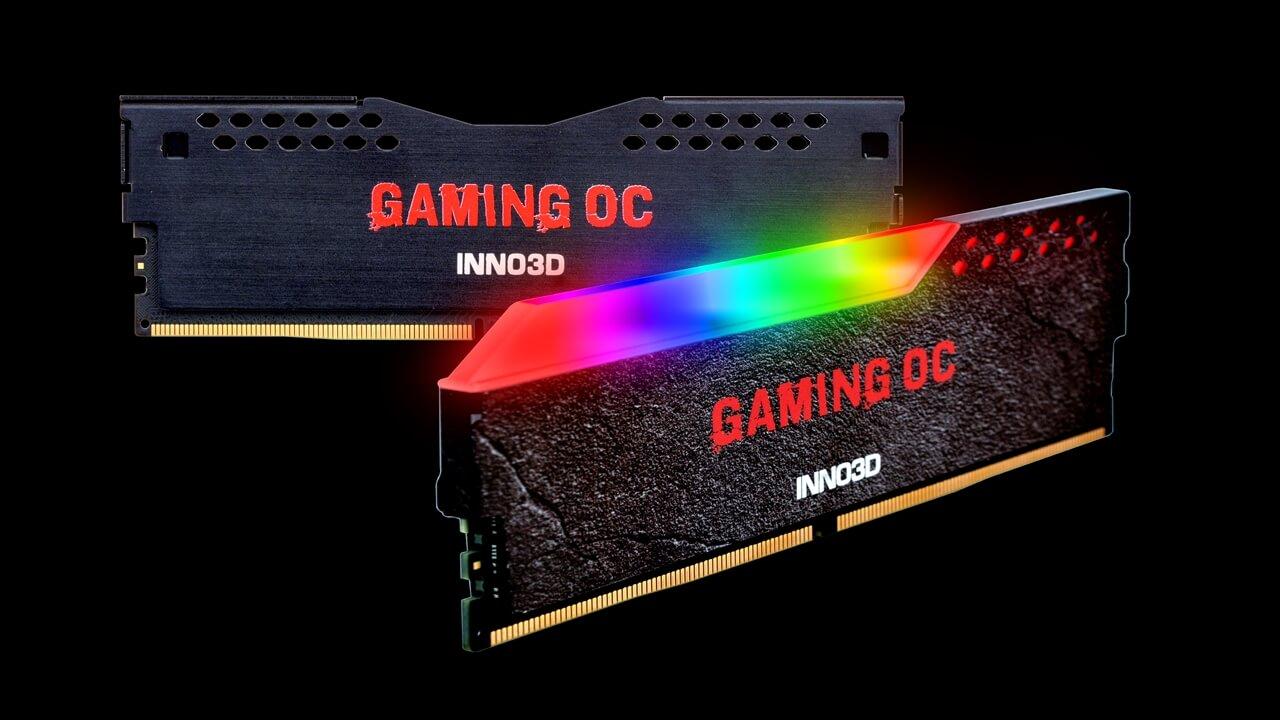 INNO3D lanseaza memoria Gaming OC