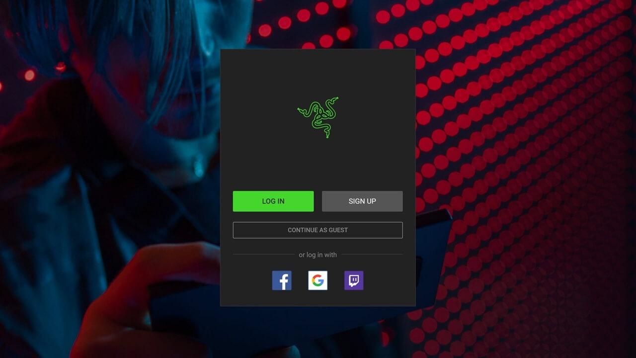 Razer adauga Guest Login, un mod anonim de a accesa aplicatiile sale