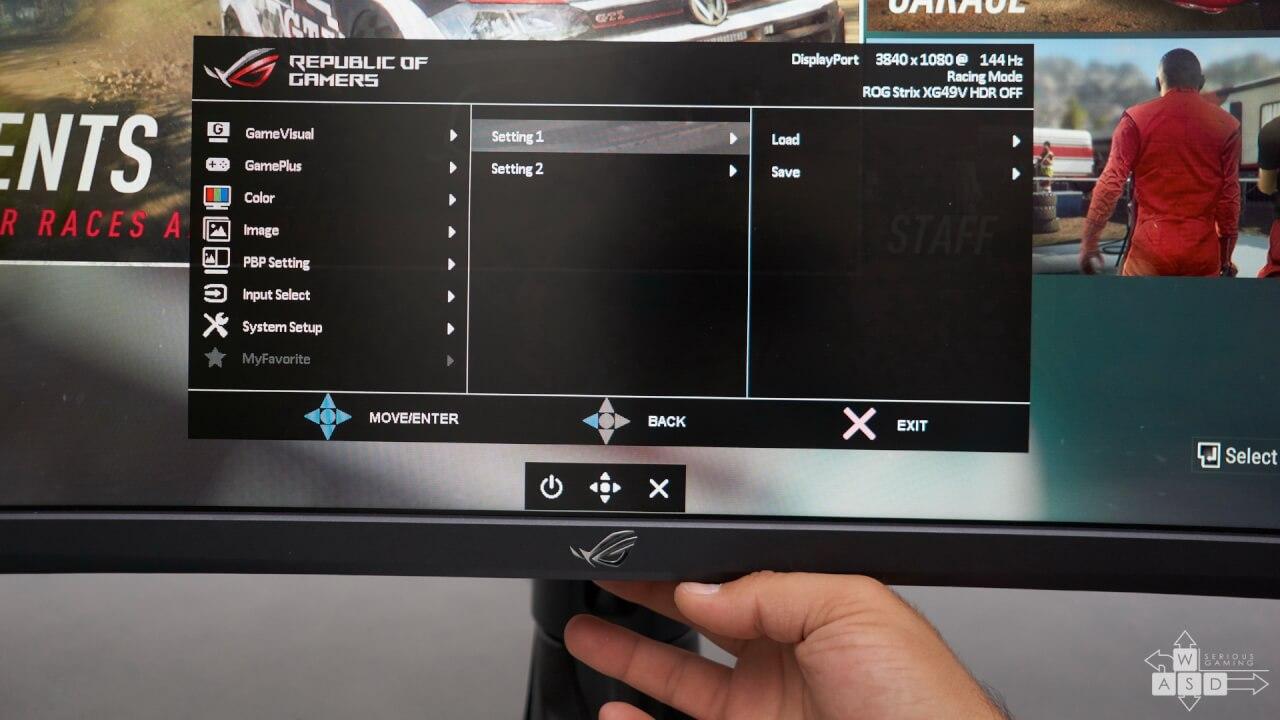 Asus ROG Strix XG49VQ review | WASD