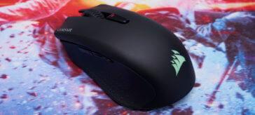 Corsair Harpoon RGB Wireless gaming mouse review   WASD