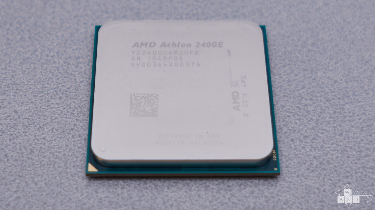 AMD Athlon 240GE review | WASD