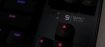 SPC Gear GK530 TOURNAMENT KAILH BLUE RGB review   WASD