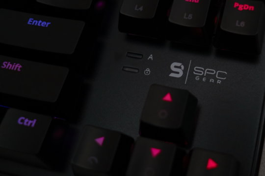 SPC Gear GK530 TOURNAMENT KAILH BLUE RGB review | WASD