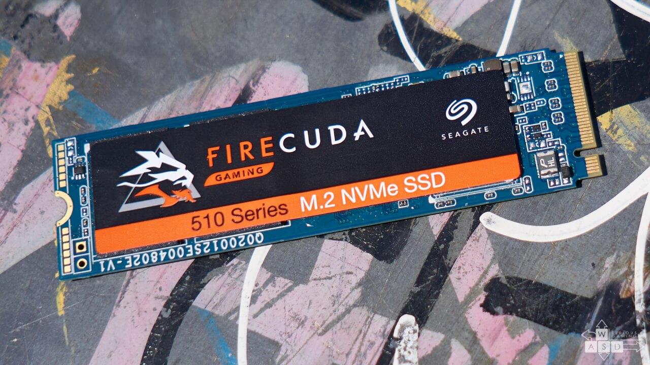 SSD M.2 NVME Seagate FireCuda 510 1 TB review | WASD