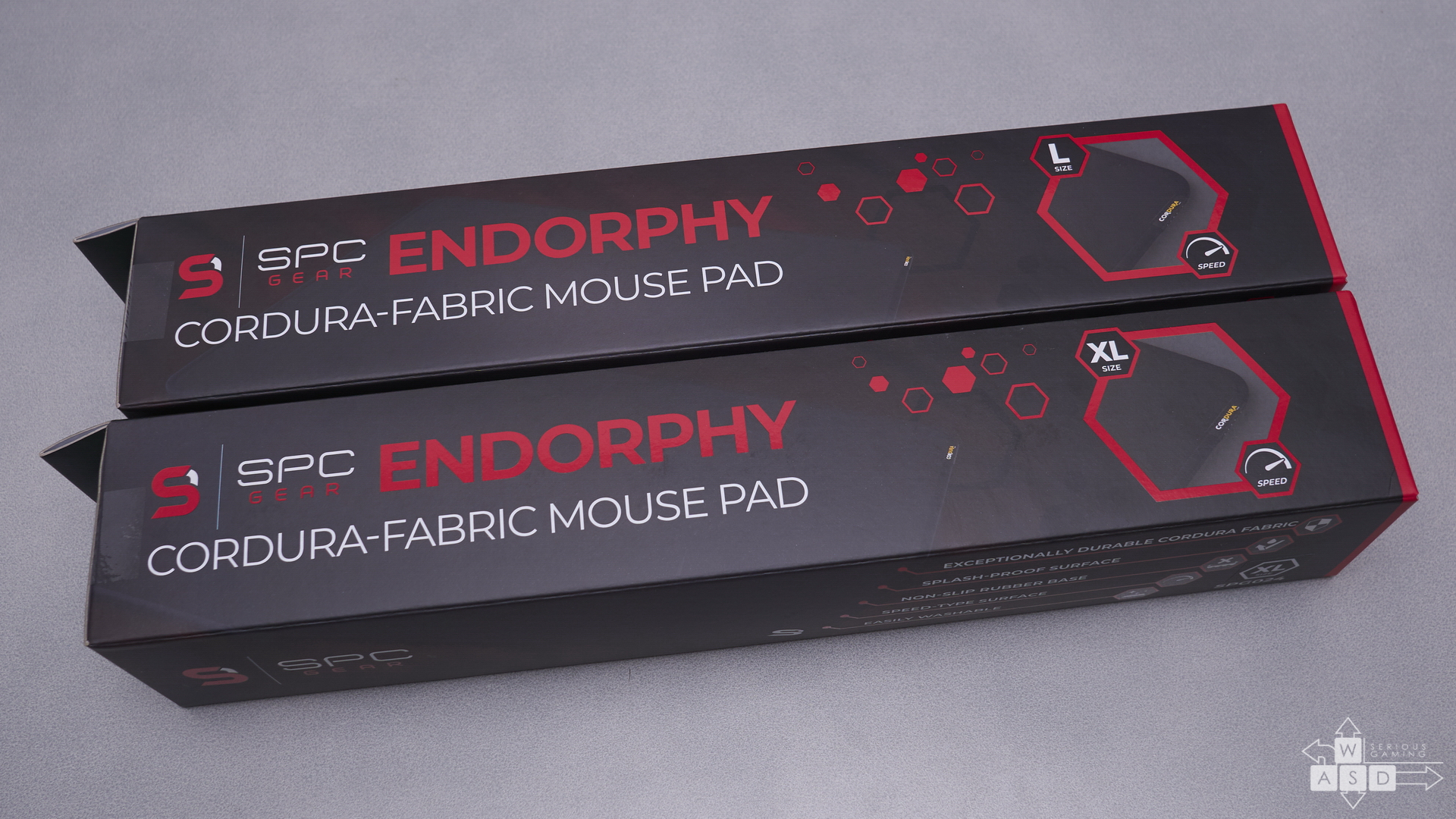 SPC Mousepads review | WASD