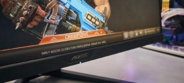 Aorus KD25F 240 Hz gaming monitor review   WASD