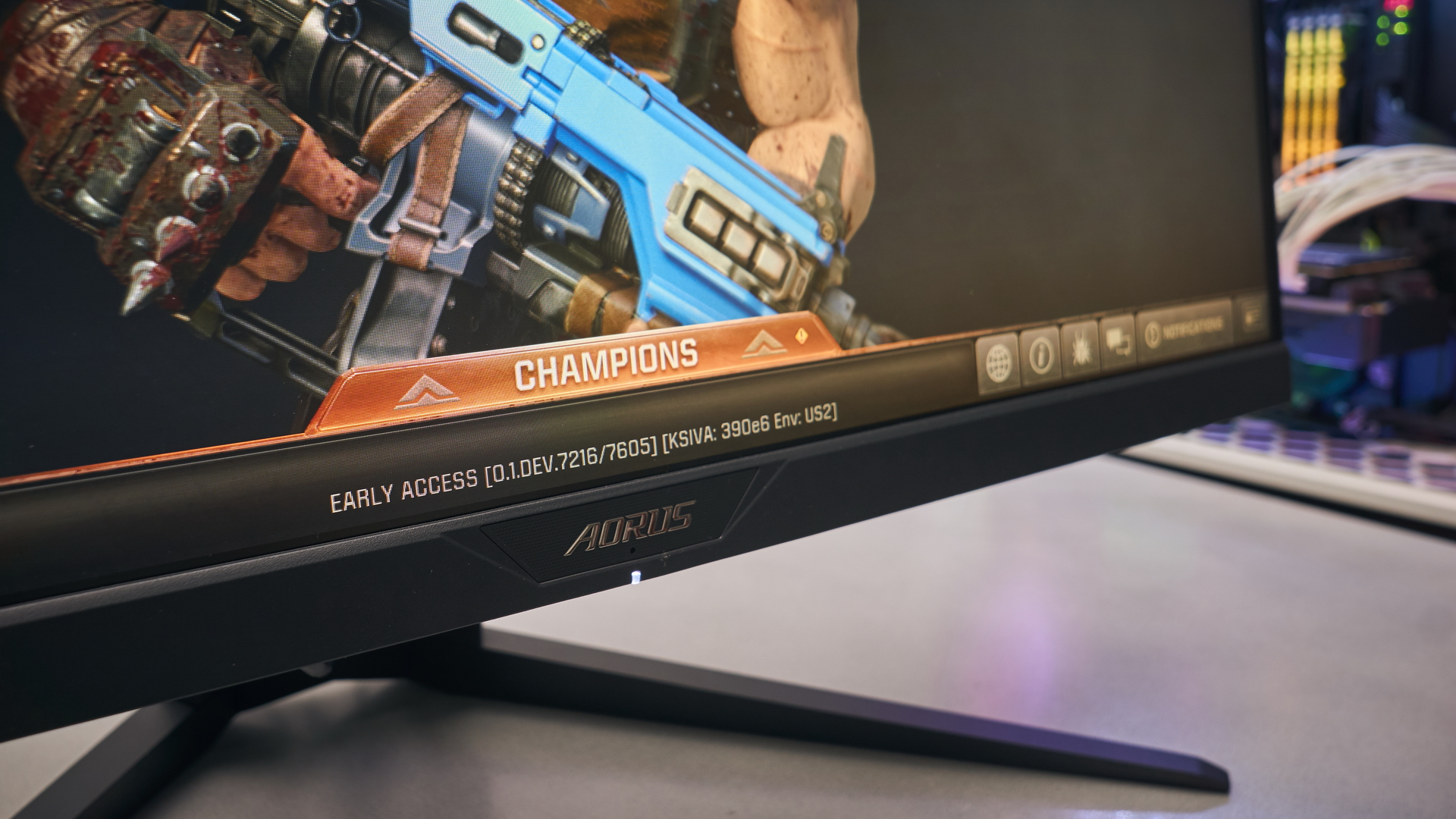 Aorus KD25F 240 Hz gaming monitor review | WASD