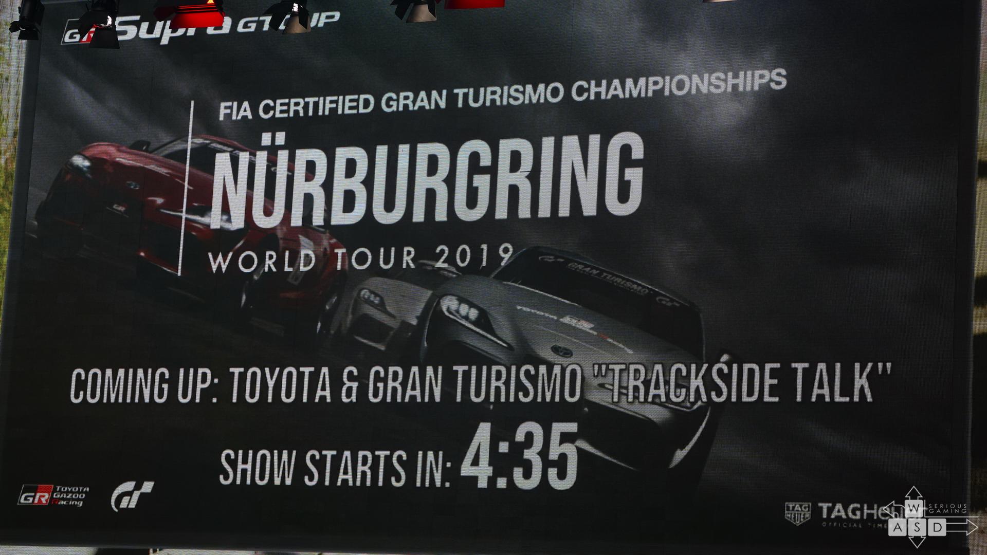 Gran Turismo Sport Nurburgring | WASD
