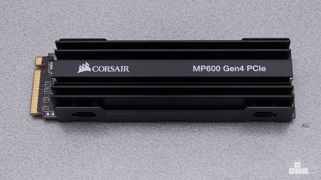 Corsair Force MP600 PCIe Gen4 2 TB SSD review | WASD