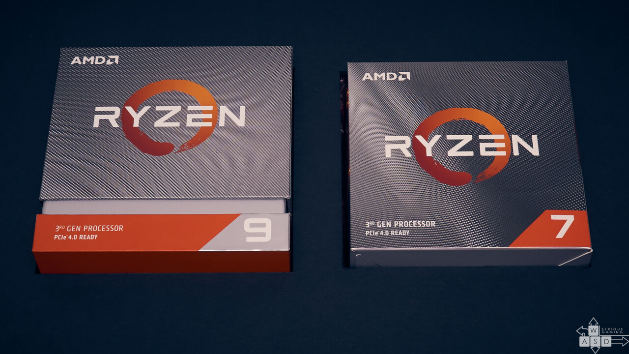 AMD Ryzen 7 3700X & Ryzen 9 3900X review | WASD