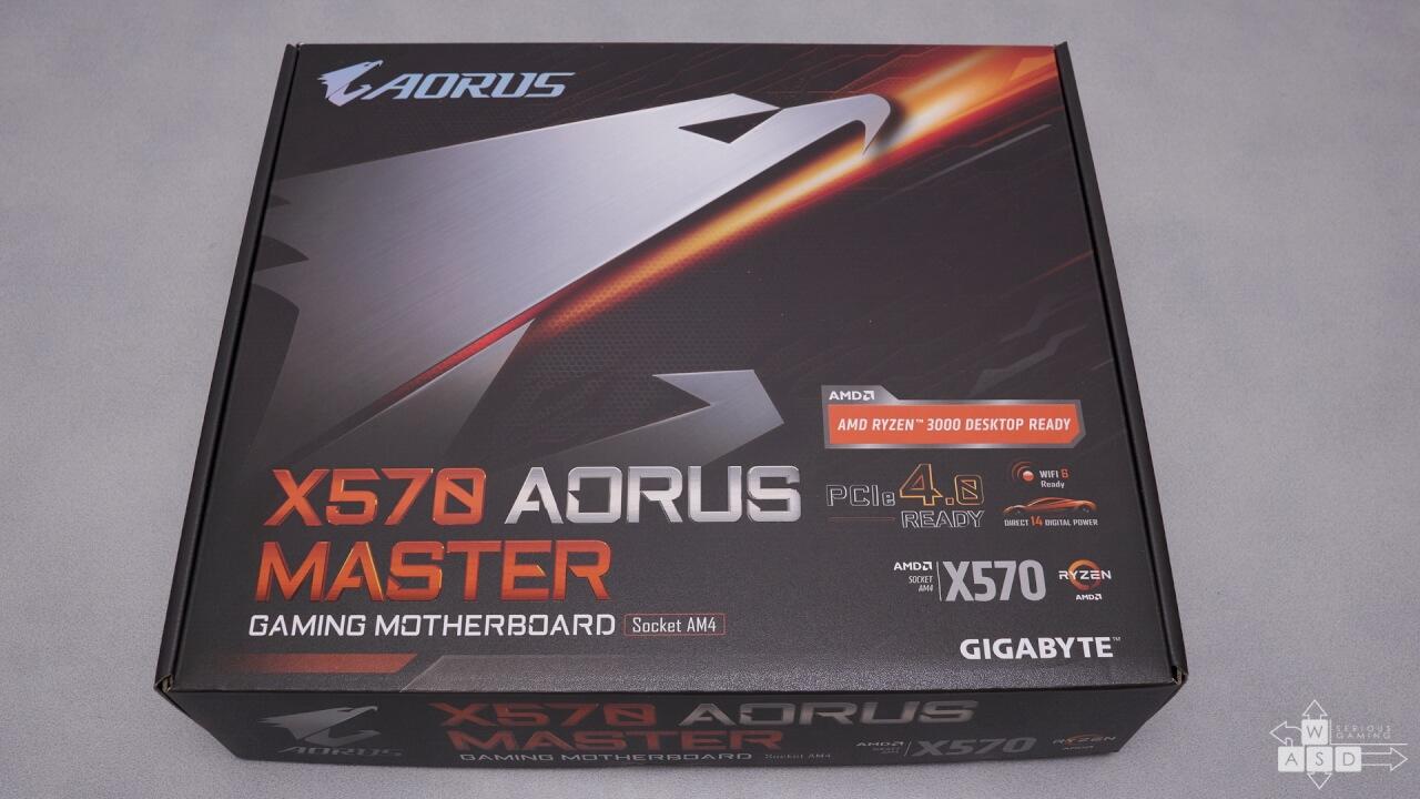 Aorus X570 Master review | WASD