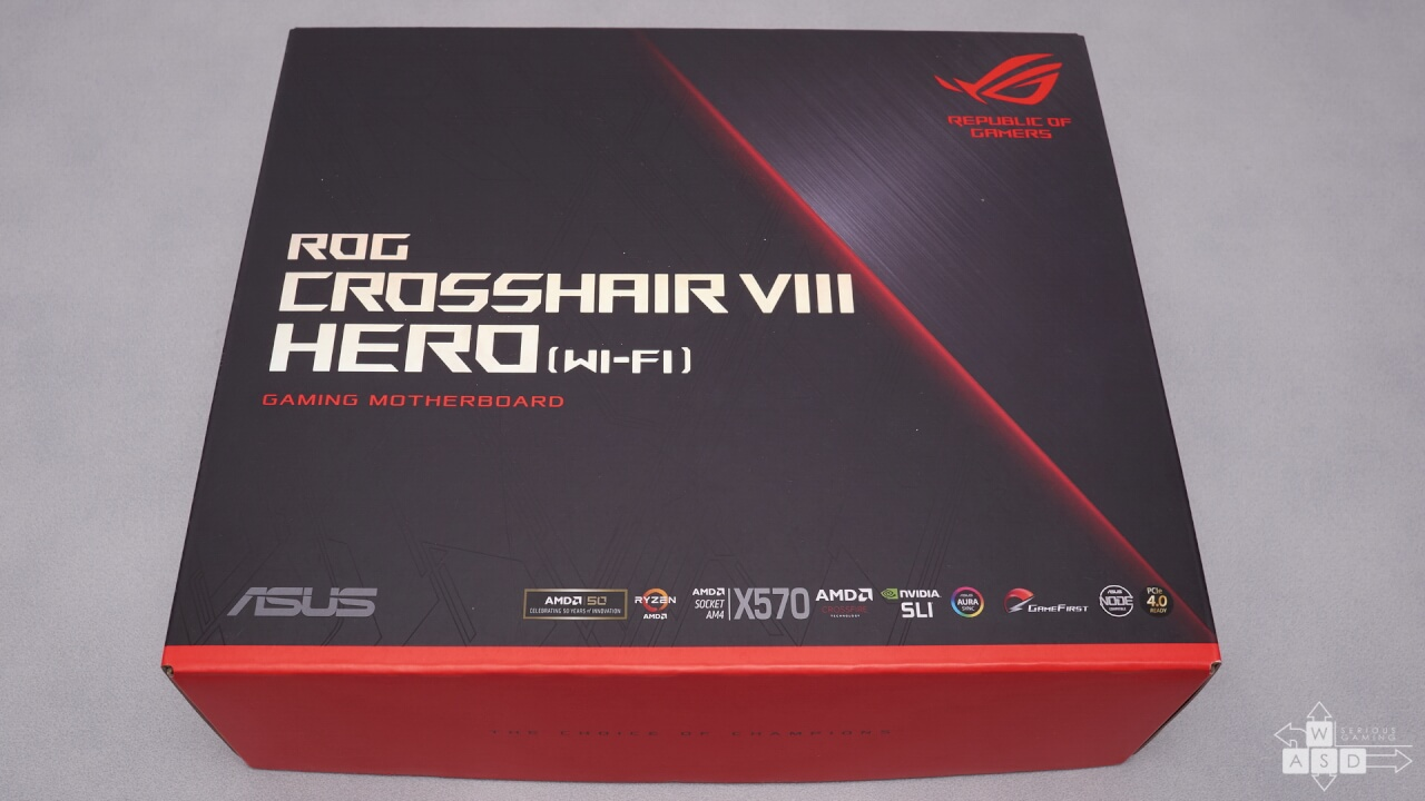 Asus ROG Crosshair VIII Hero review | WASD