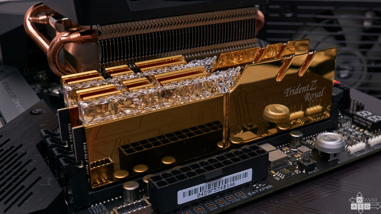 G.Skill Trident Z Royal 3600 MHz