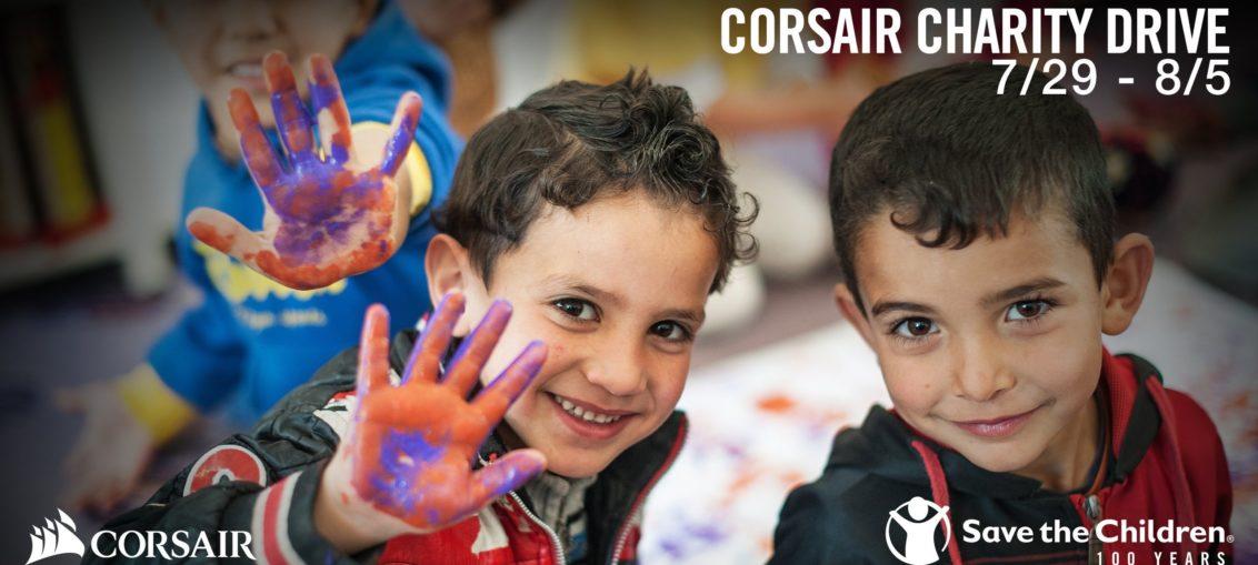 corsair charity drive 2019