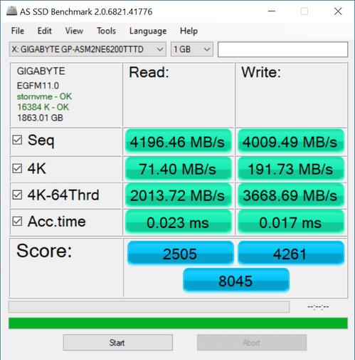Aorus PCIe Gen4 2 TB SSD review | WASD