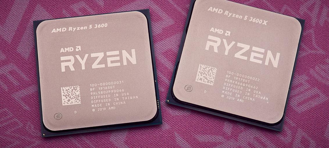 AMD Ryzen 5 3600X & Ryzen 5 3600 review | WASD