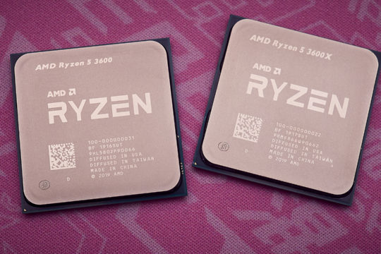 AMD Ryzen 5 3600X & Ryzen 5 3600 review | WASD