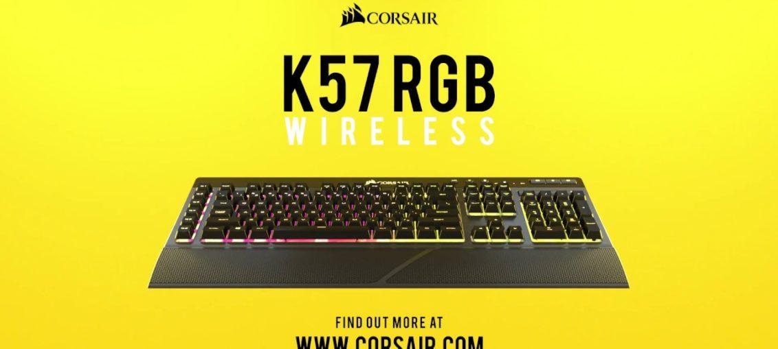 Corsair lanseaza tastatura K57 RGB