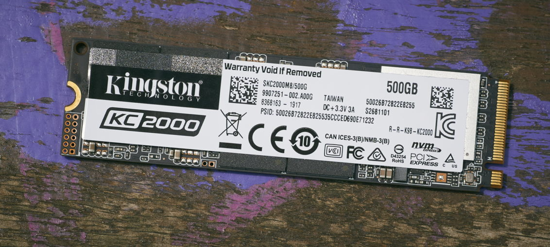 Kingston KC2000 SSD review | WASD