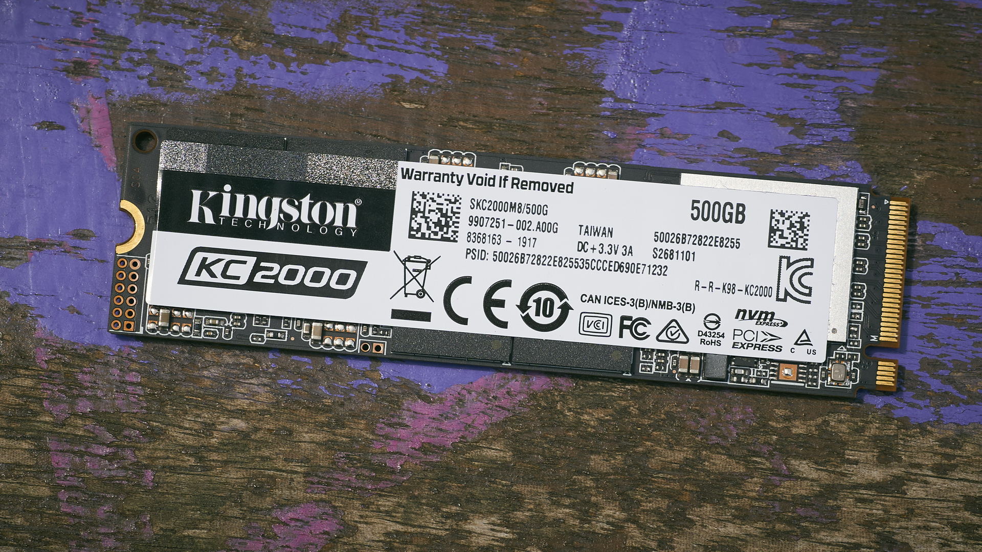 Kingston KC2000 SSD review | WASD