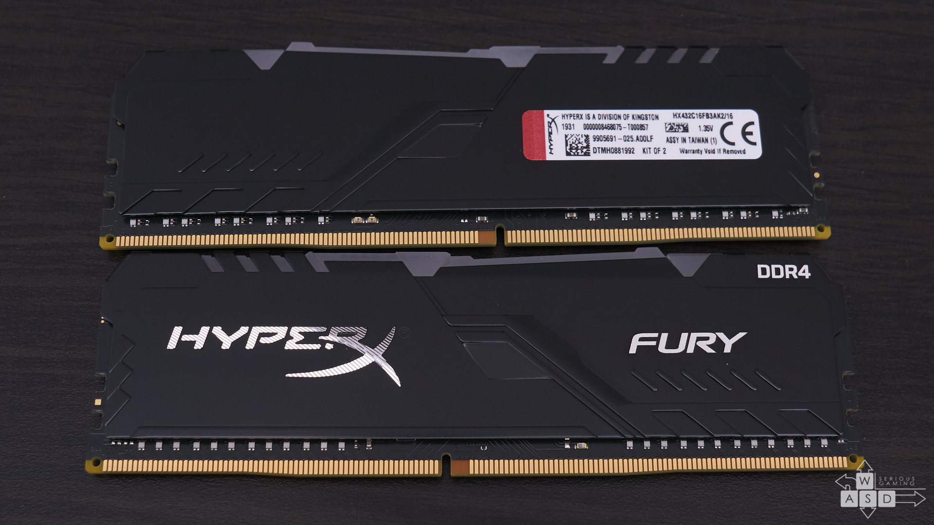 HyperX FURY DDR4 RGB Memory 16GB review | WASD