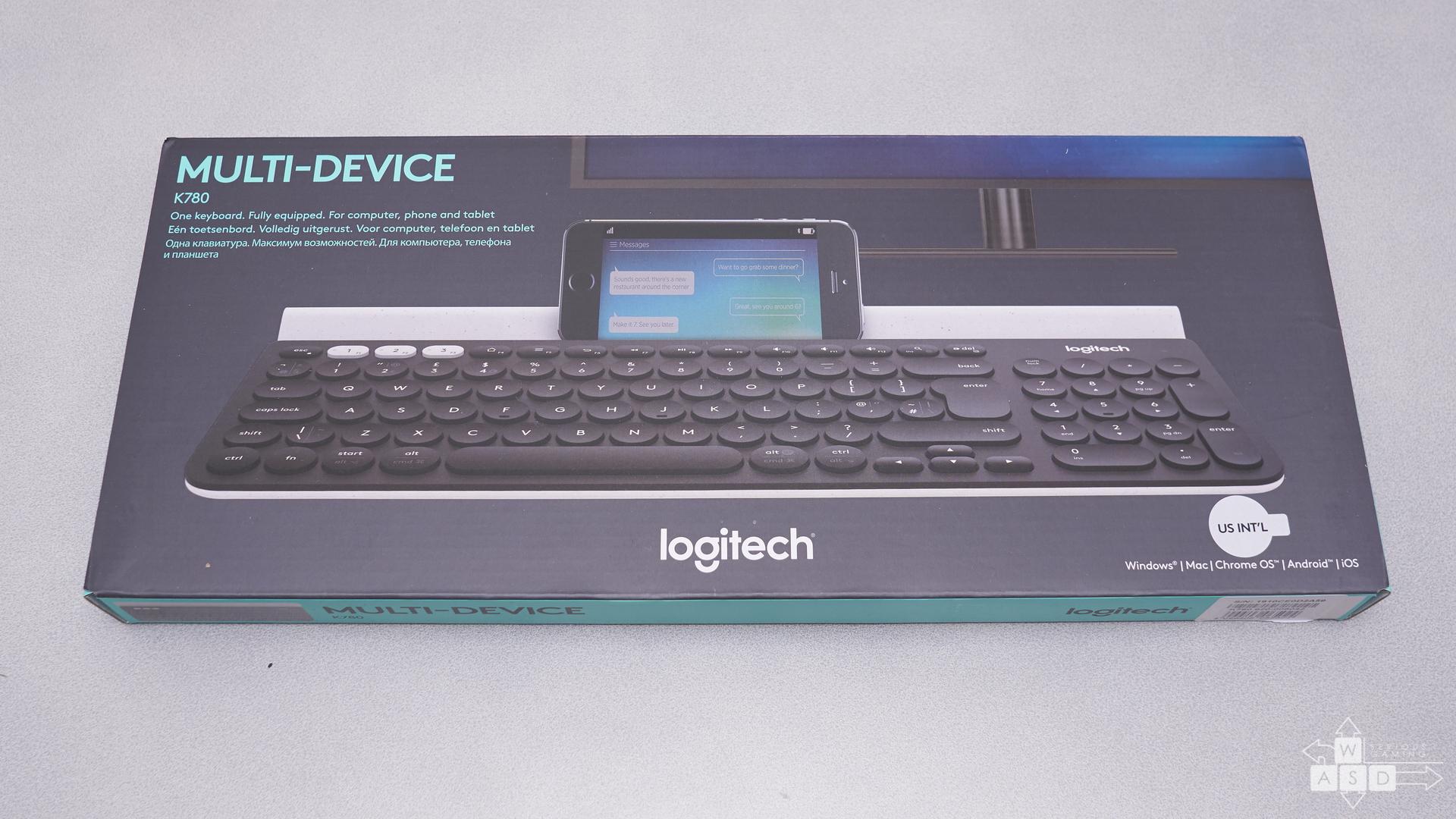Logitech K780 | WASD