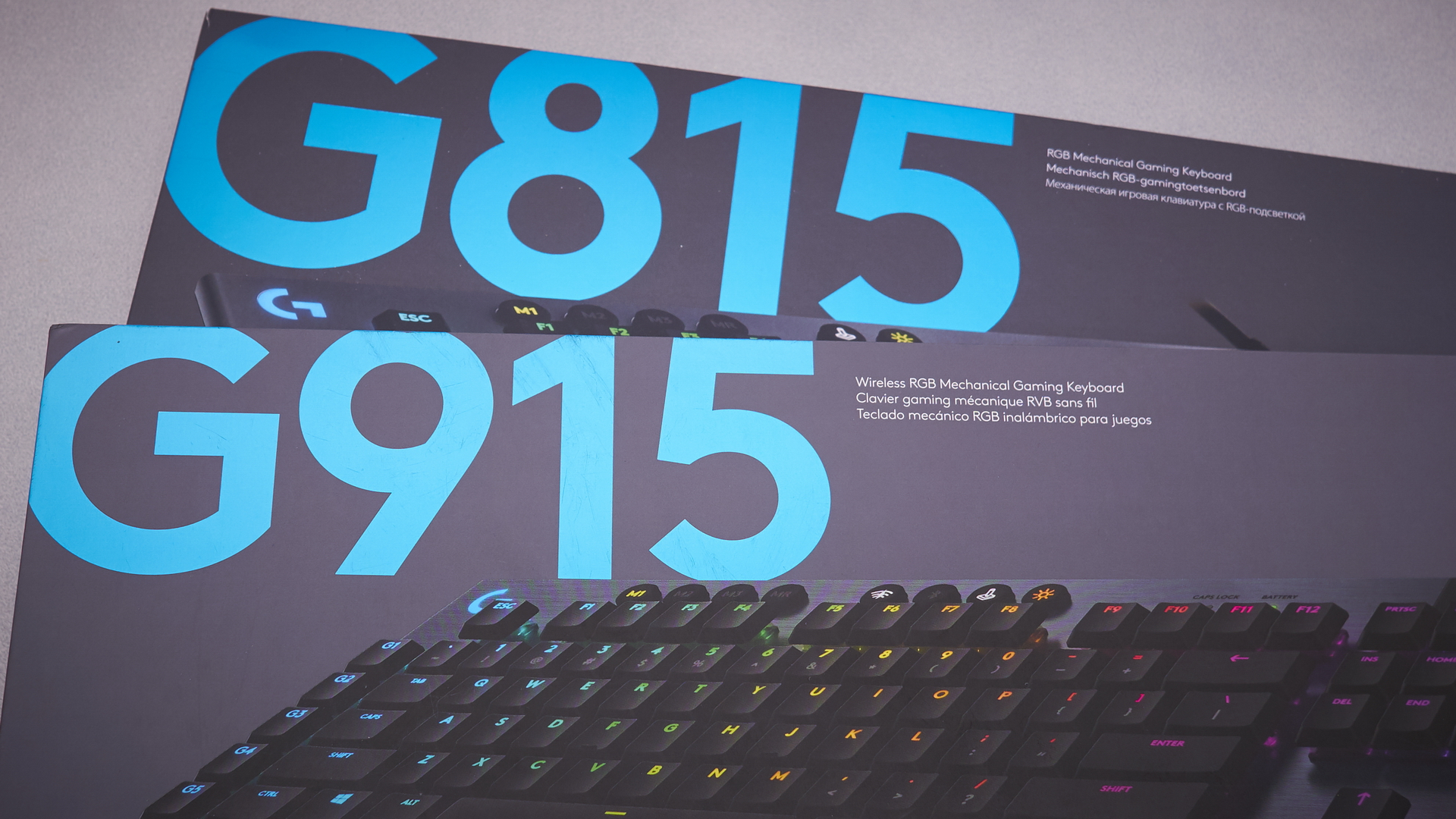 Logitech G815 and G915 review | WASD