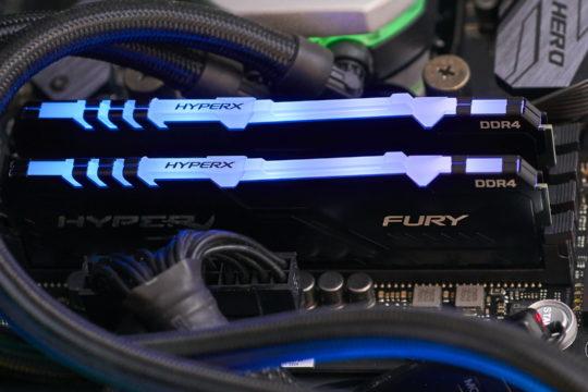 HyperX FURY DDR4 RGB Memory 16GB review | WASD
