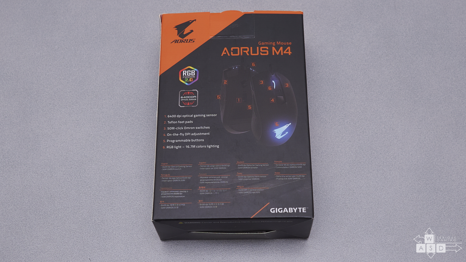 Gigabyte Aorus M4 review | WASD.ro