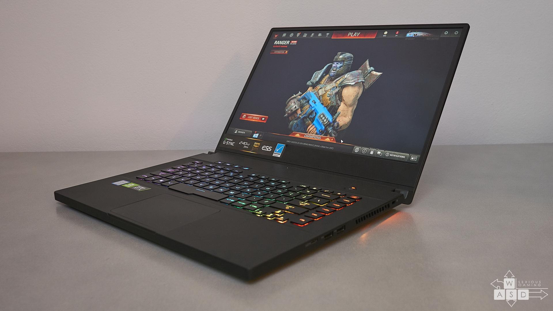 ASUS ROG ZEPHYRUS S GX502GW review   WASD.ro