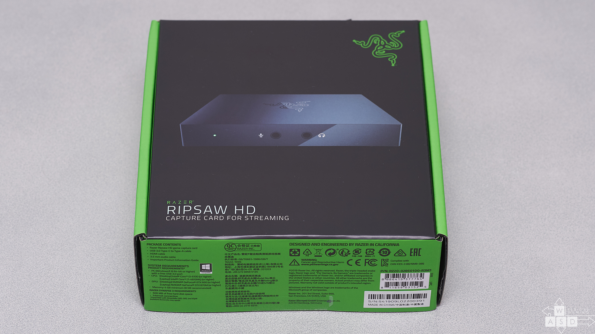 Razer Ripsaw HD review | WASD