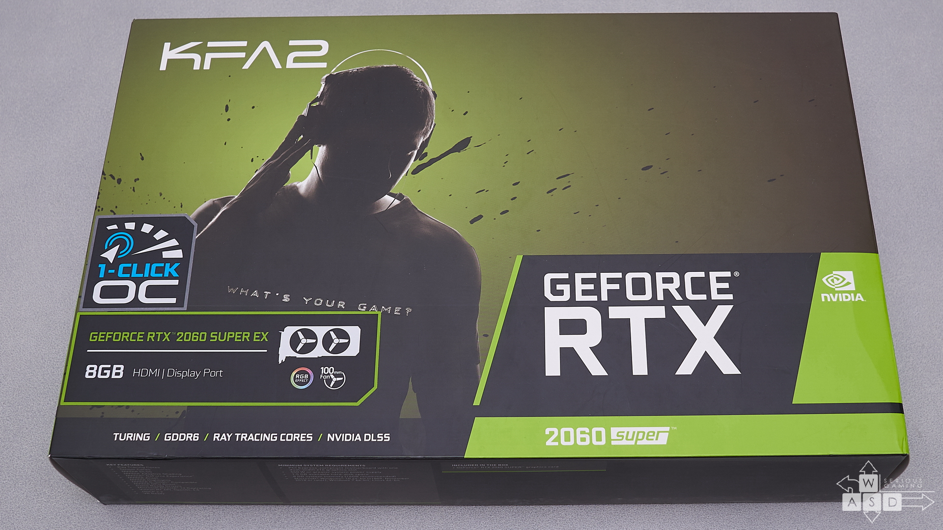 KFA2 GeForce RTX 2060 Super 1-Click OC review | WASD