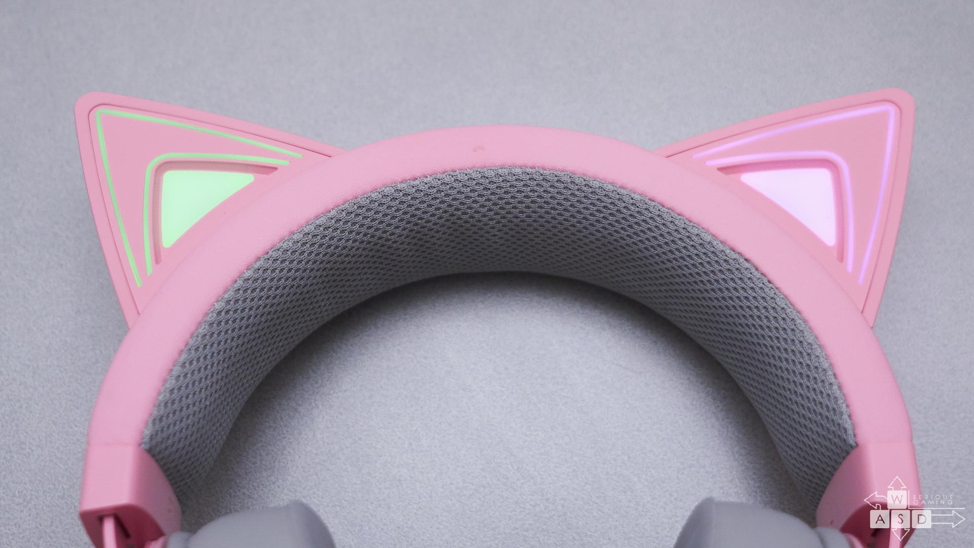 Razer Kraken Kitty RGB Quartz review | WASD.ro