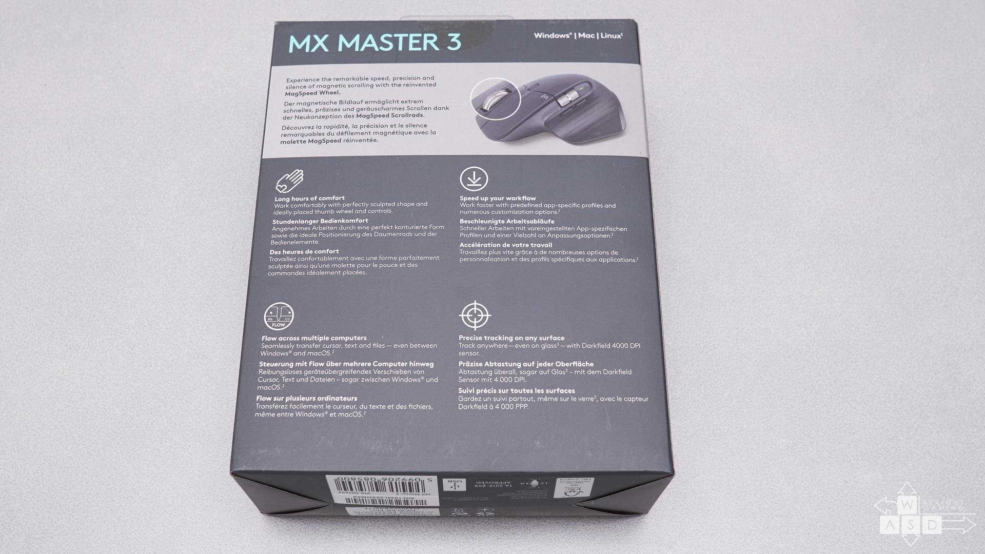 Logitech MX Master 3 review | WASD.ro