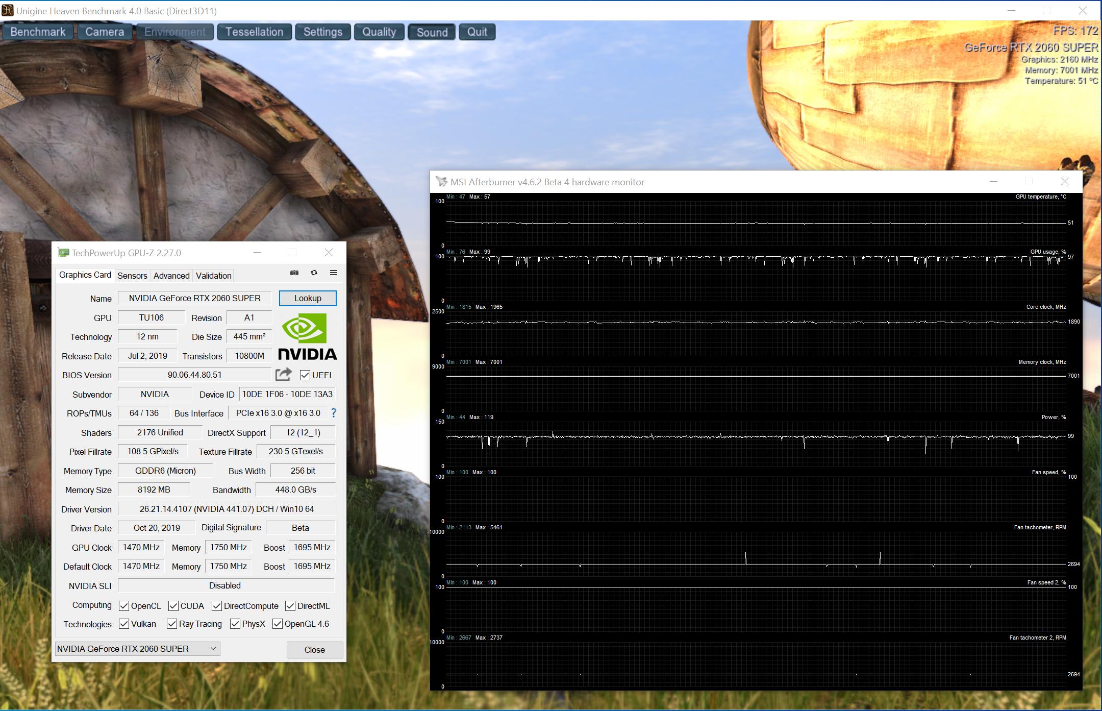 KFA GeForce RTX 2060 Super EX 1-Click OC