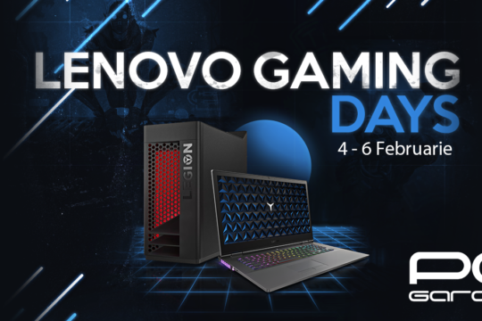 PC Garage Lenovo Gaming Days