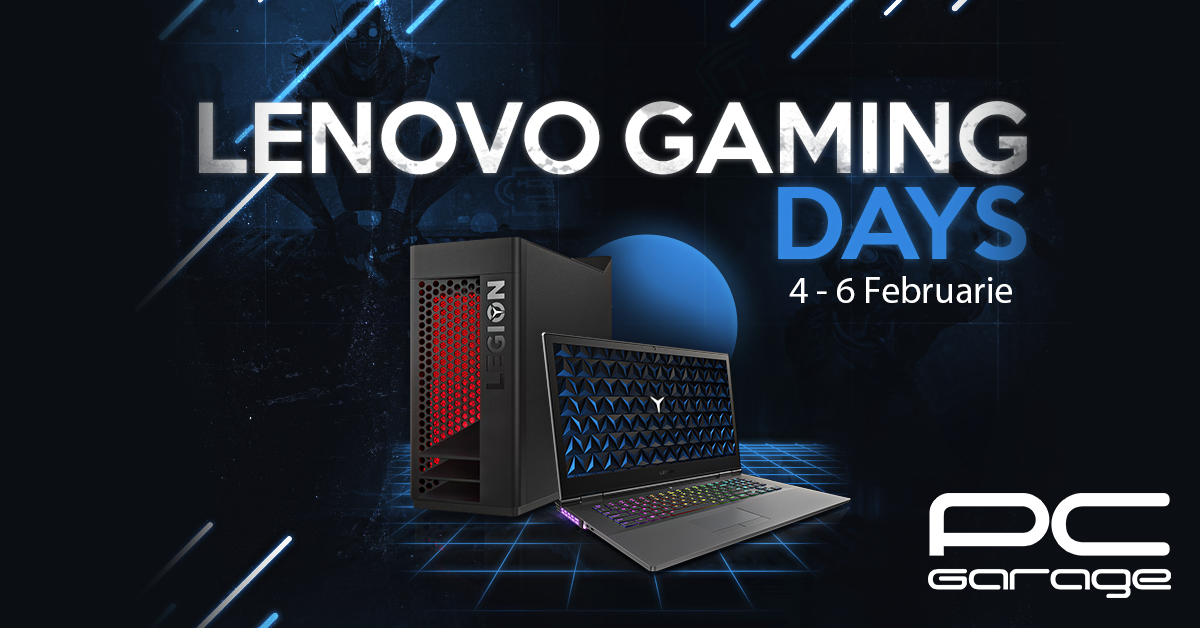PC Garage Lenovo Gaming Days