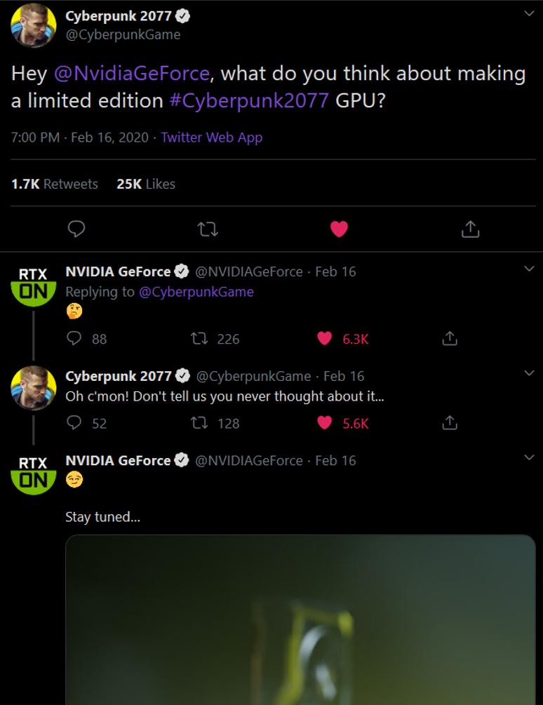 Nvidia + Cyberpunk