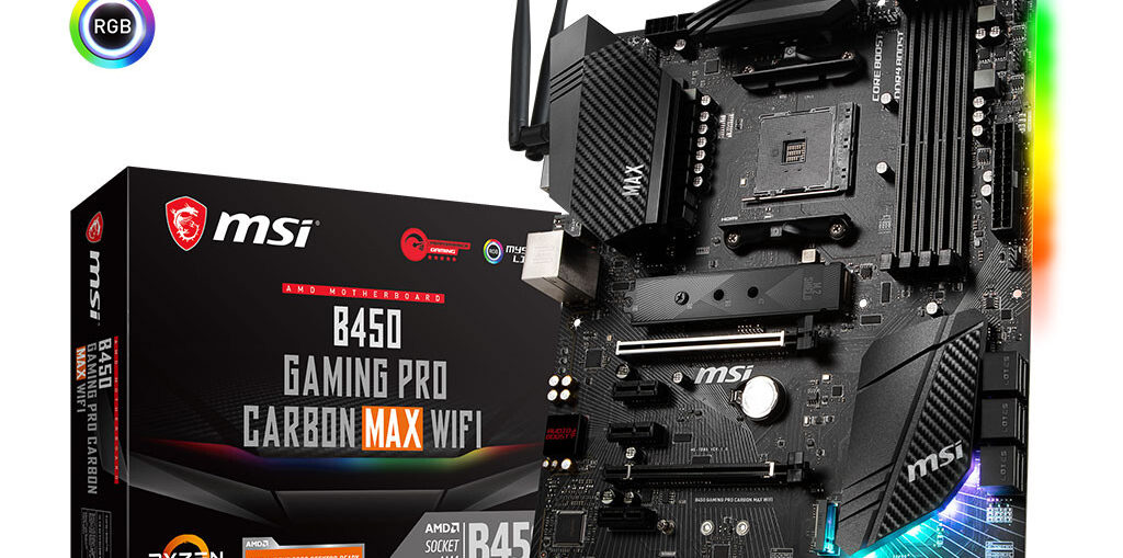 MSI B450 Gaming Pro Carbon MAX WiFi