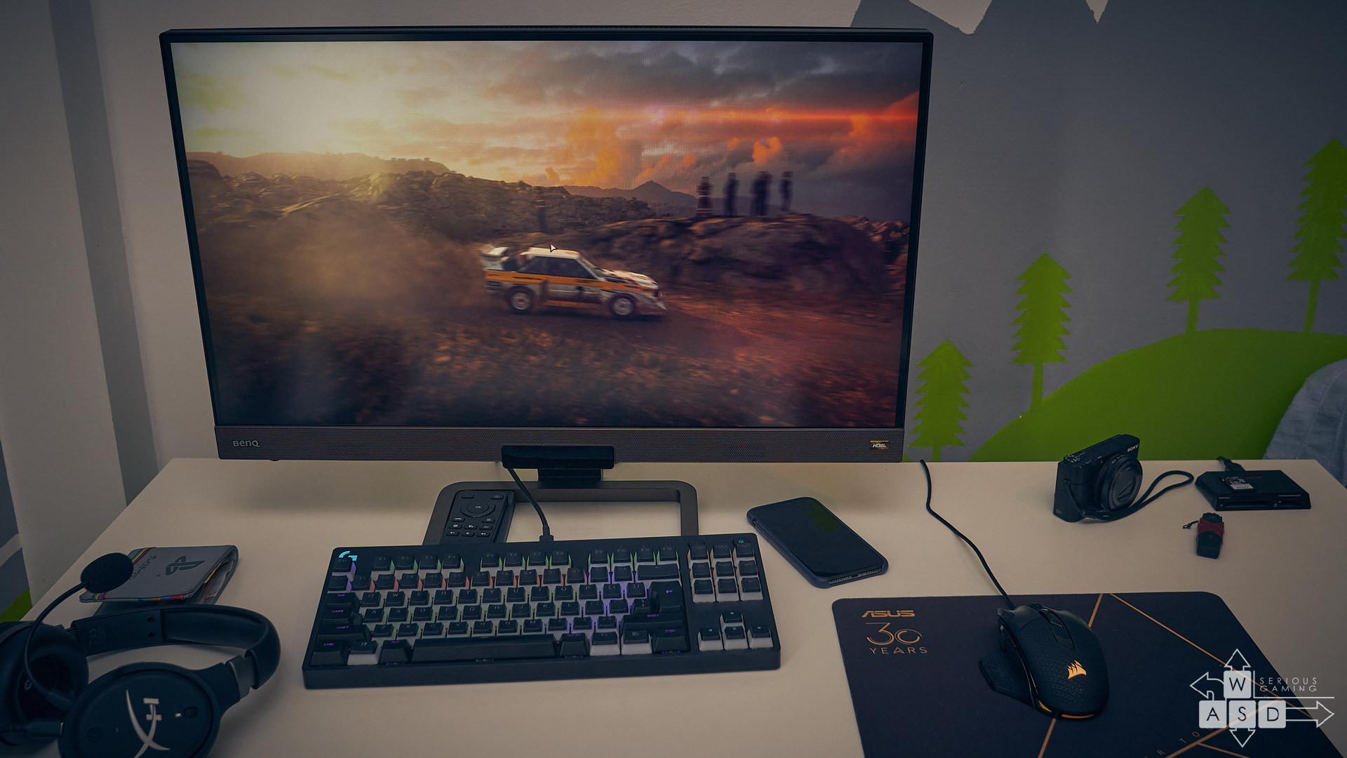 Benq EX2780Q review | WASD